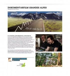 Bergamont Artikel über Grandes Alpes