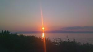 Sonnenuntergang Genfersee